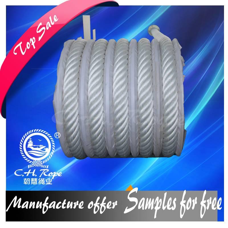 56 mm 8 Strands High Strength Polypropylene Fiber Rope