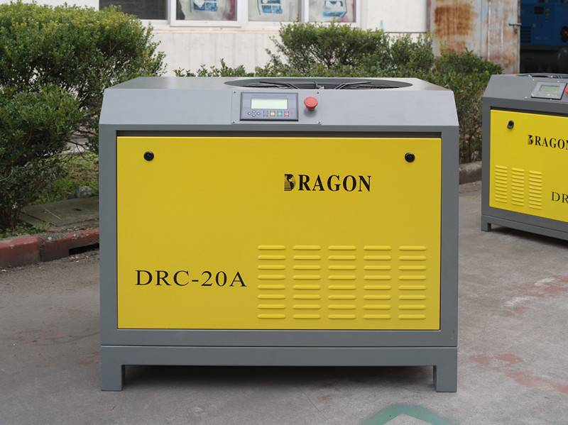 best price screw air compressor by Dragon