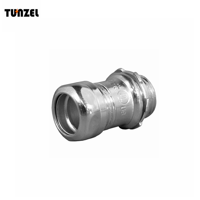 1 Steel compression emt connector by China supplier