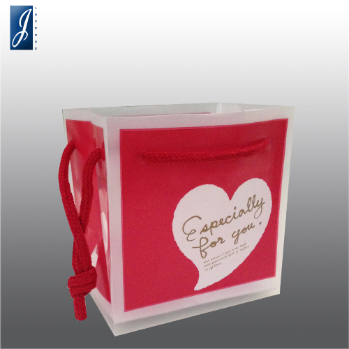 Currency small love plastic packaging bag