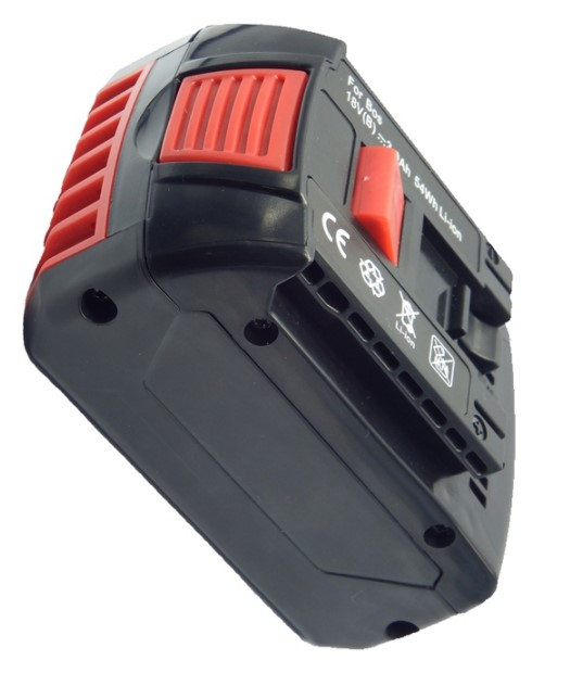 Replacement Li-on Battery Pack for Bosch 18V 5.0Ah Power Tool For BAT610 With LED Charge Indicator