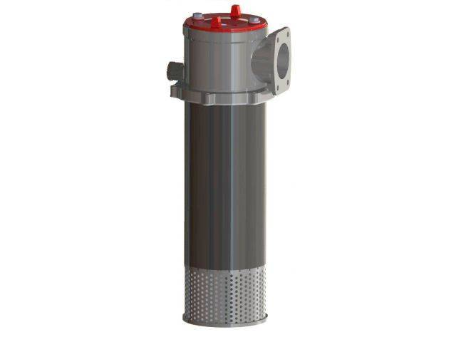RFB with check valve magnetic return filters
