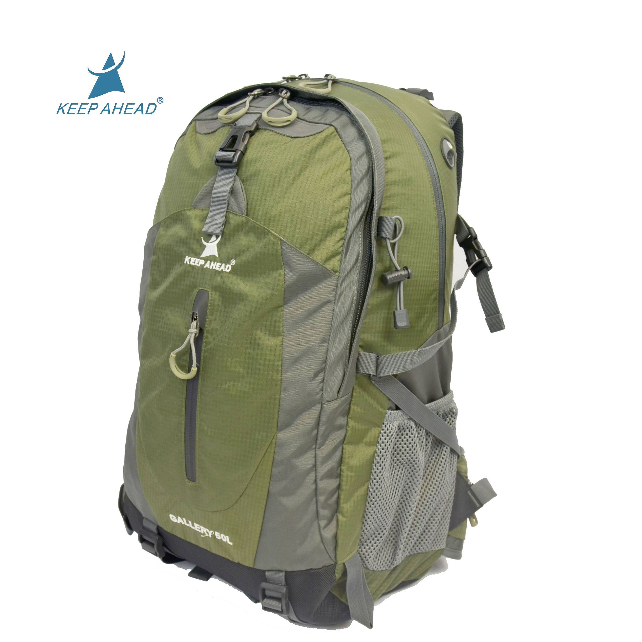 High quality nylon military camping backpack unisex outdoor travel backpack