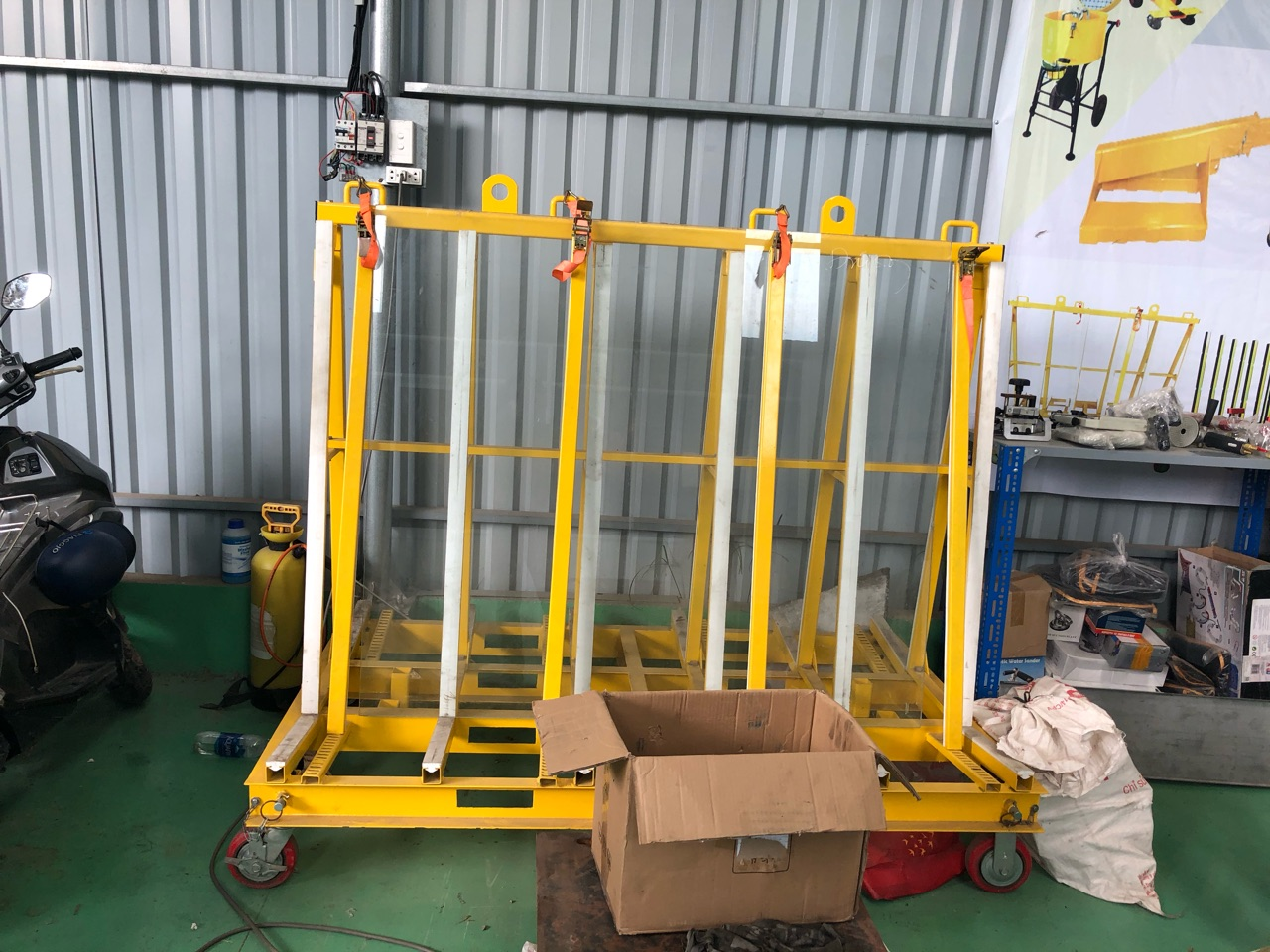 One Stop A-Frame / Quan Phong Stone Rack / Stone A-Frame / Stone Display