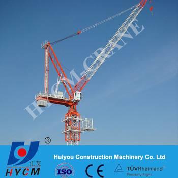 Luffing jib crane for exporting Iraq QTD120 4522