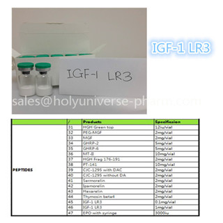 IGF LR3 for bodybuilder ,lose weight ,Cas946870-92-4