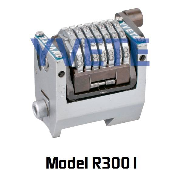 Rotary numbering machine for Morganna