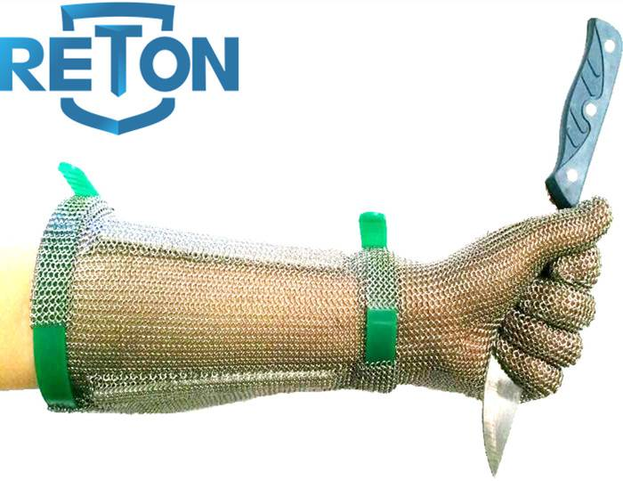 stainless steel mesh glove for meat processing