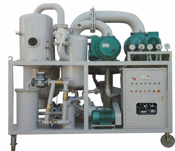 Double-Stage Vacuum Insulating Oil Regeneration Purifier Series ZYD-I