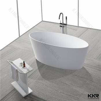 kingkonree solid surface acrylic modern colored bathtubs