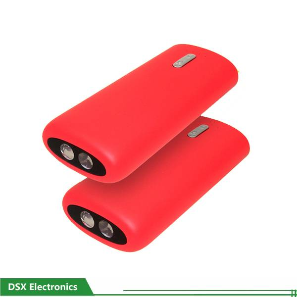 4400mAh Portable Mobile Charger battery with lighting power pack
