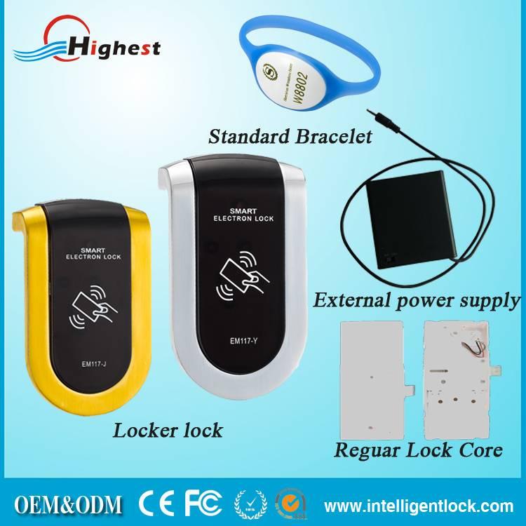 Electronic Locker Lock Cabinet Lock With Smart Card