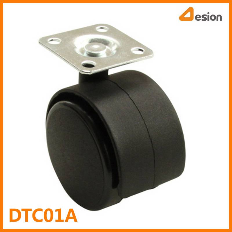T Plate Wheel Caster Without Brake