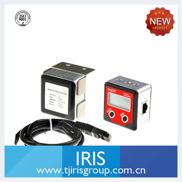inclinometer for level measurement and balance control
