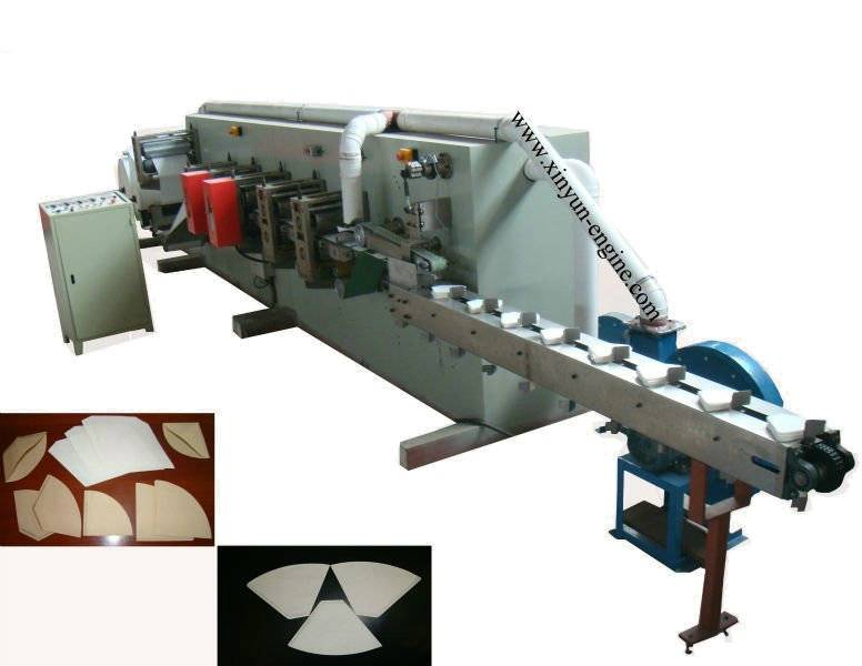 Heat Sealing Coffee Paper Filter Bag Making Machine