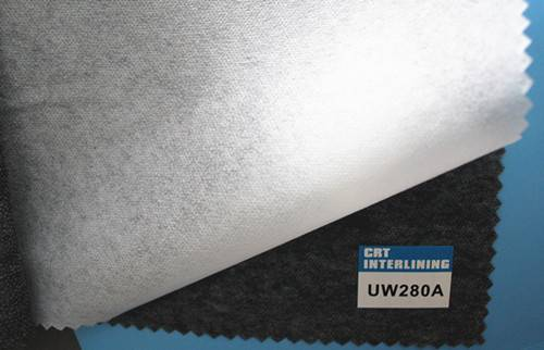 non woven fusible interlining-UW280A(interfacing)