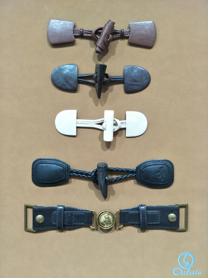 Garment Accessories With Leather PU Accessories