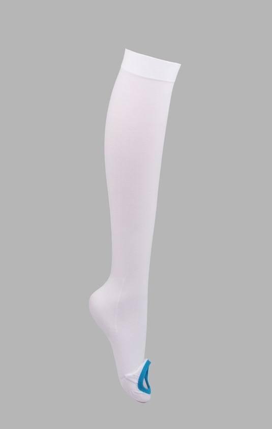 Unisex Medical elastic Anti-embolism  open toe stockings