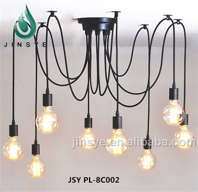 multi-spide lamps industrial lighting restaurant chain