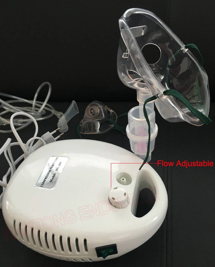 China Manufacturer Home & Medical Quiet Compressor Nebulizer SG-208