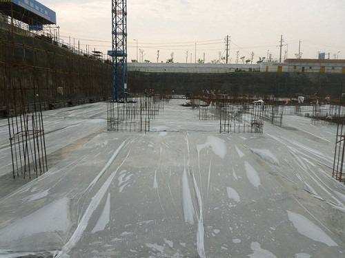 Plane Concrete Water Saving Curing Film/Sheet-Single Layer Construction Materials