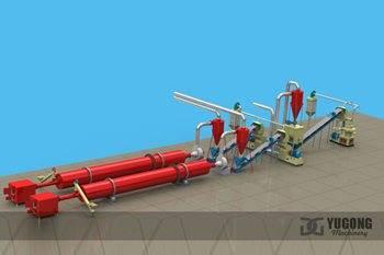 1.5T/H PELLETS PRODUCTION LINE