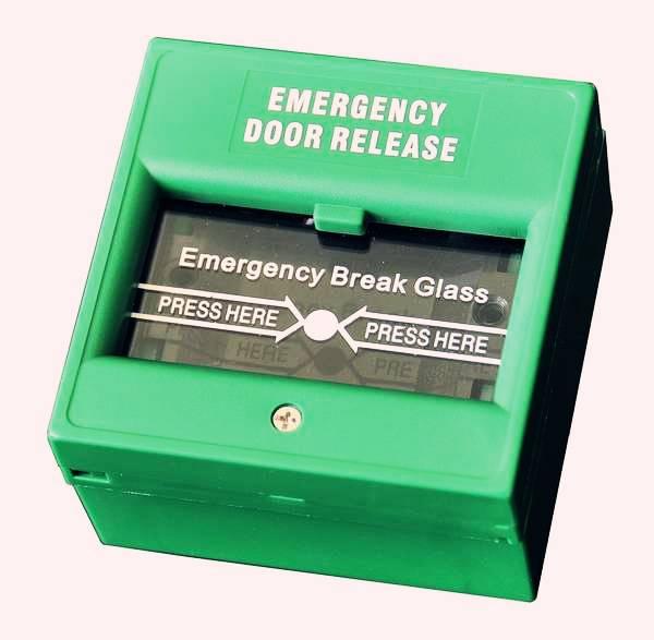 Break Glass Emergency Button of access control