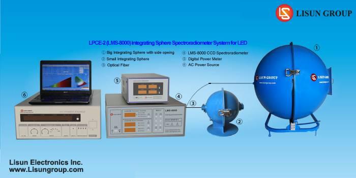 LPCE-2(LMS-8000) Integrating Sphere Spectroradiometer System for LED