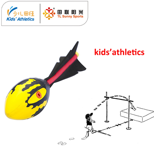 vortex javelin with whistle for kids athletics