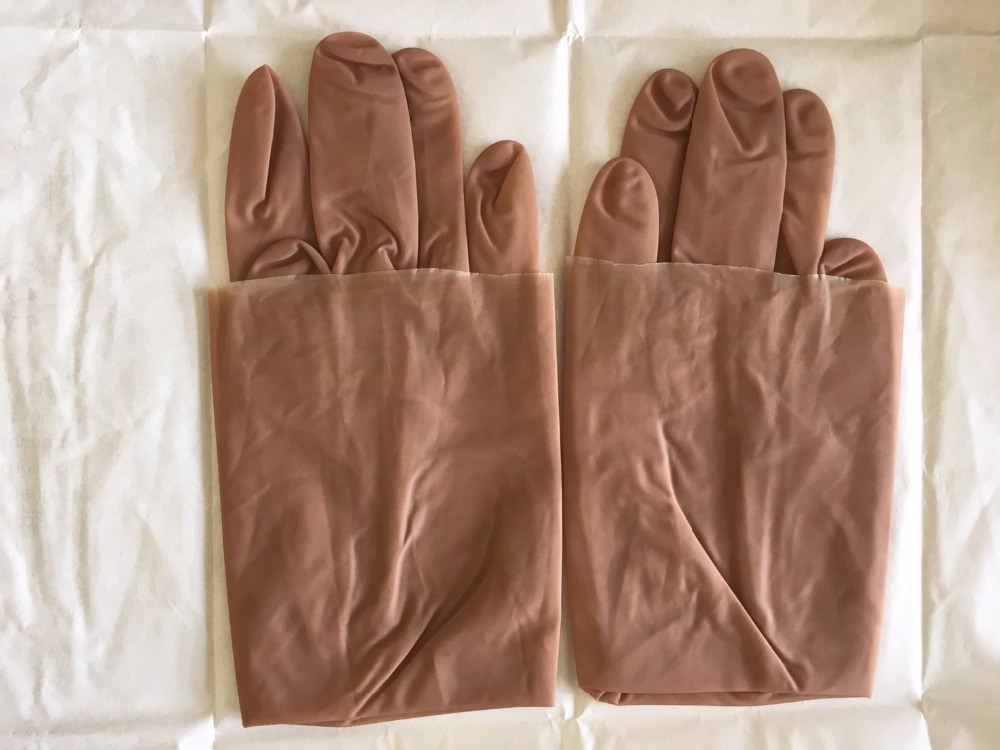 Microsurgery Latex Surgical Gloves 1710
