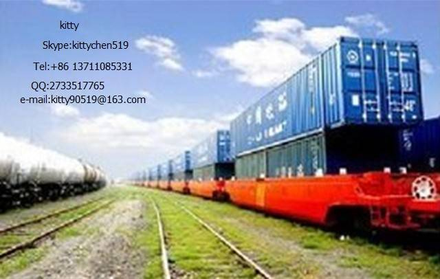 Shoe,Bag,Belt DDP DDU Transport to Kazakhstan Russia Moscow  In Railway Freight Company services