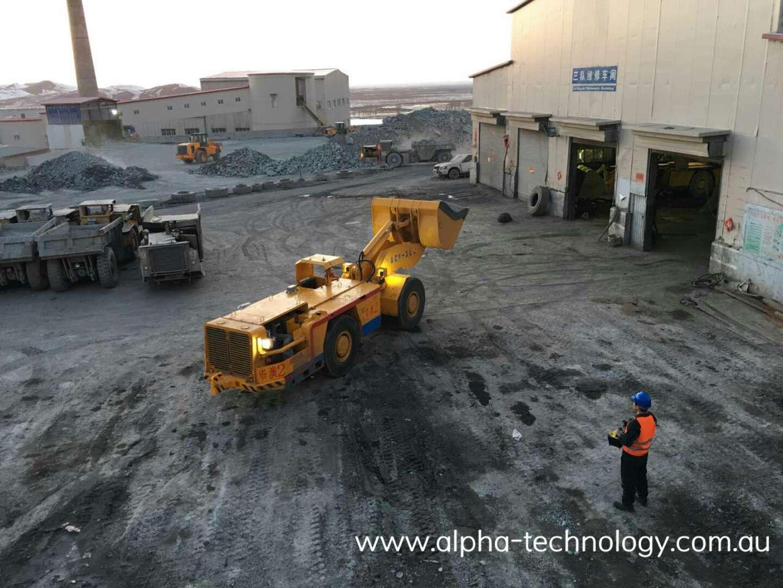 Remote Control Mining Equipment Load-Haul-Dump Loaders