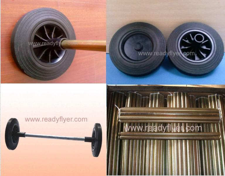 Dustbin wheel/garbage bin rubber wheel/refuse bin wheel/wheelie bin wheel(up to standard of EN840-5)