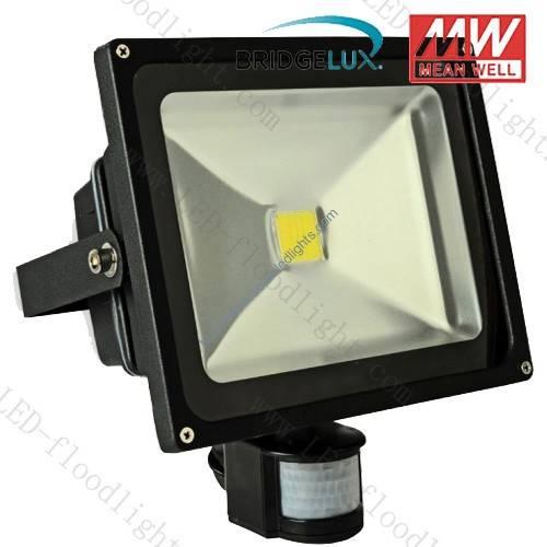 30w led pir flood light