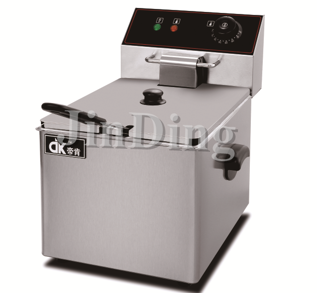 6 liter Electric deep fryer single tank DK-6L