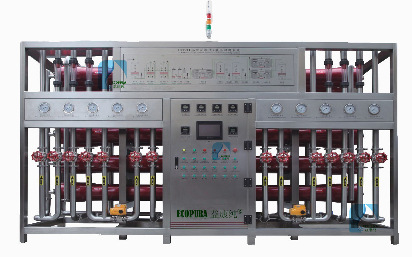 RO Water Treatment Machine / Water Purification System 20Ton/H