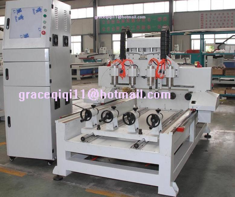 PROFEESIONAL 4 AXIS CYLINDER ENGRAVING CNC MACHINE