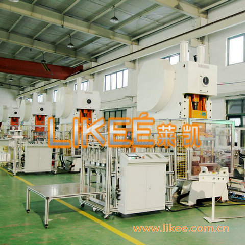 Aluminum Foil Food Container Forming Machine
