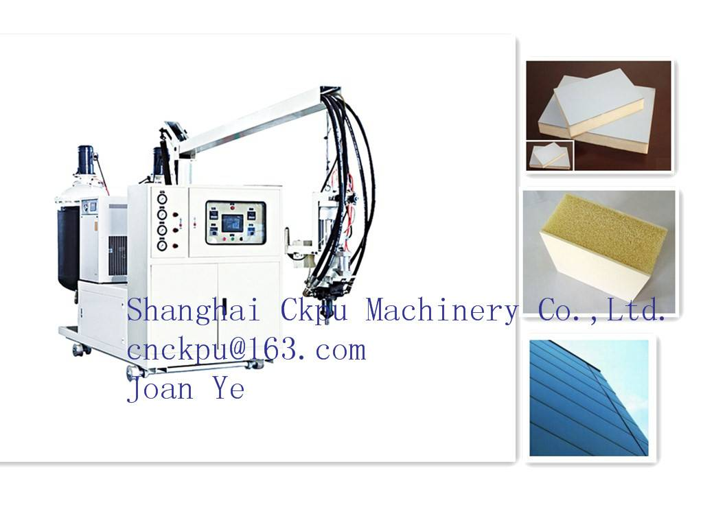 Polyurethane Filling Foam Machine for Veneer Door