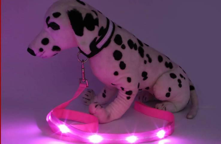 New Design Super Shining Electric Led Dog Leash