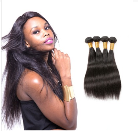 [8A]4 Bundles Indian Straight Hair Weave