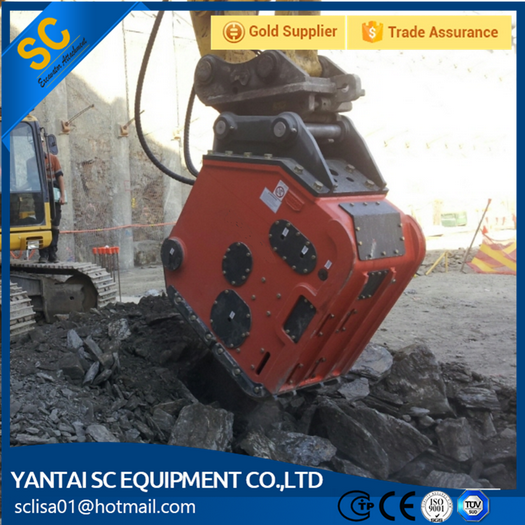 vibro ripper for excavator rock splitter attachment