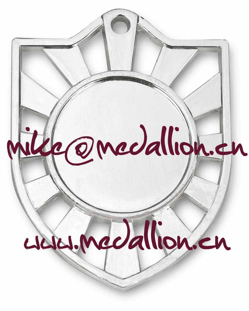 Shield style cut out medal