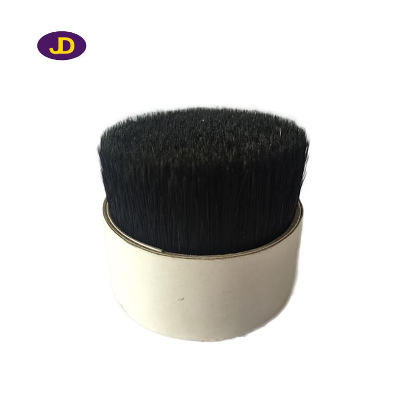 Natural black pig bristles for paint brush