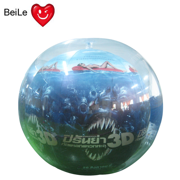 Factory price giant inflatable 3D ball for promotion
