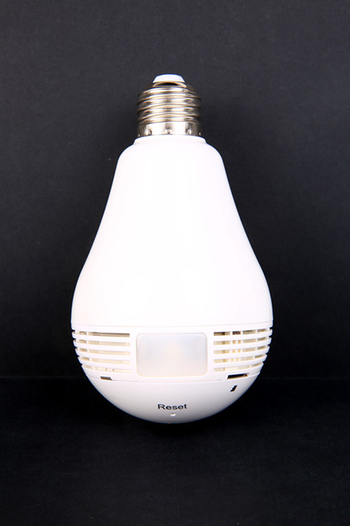 Smart Bulb WiFi IP Camera for Home Security