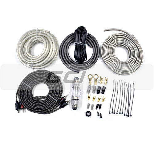 Manufacturer Auto Cable amplifier wiring kit(KIT-0801)