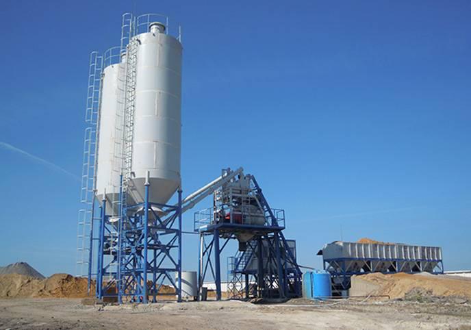 concrete batching plant(60-120m³/h)