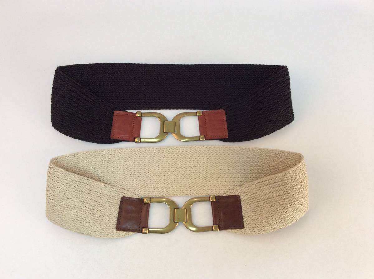 cotton webbing center back belt