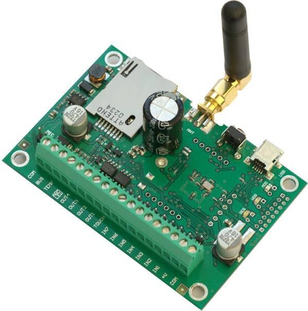 GSM SMS/DIAL Burglar Alarm And Remote Control System